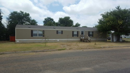 3/2 Decision Singlewide Mobile Home On 0.16 Acres In Spearman, Texas – $45,900