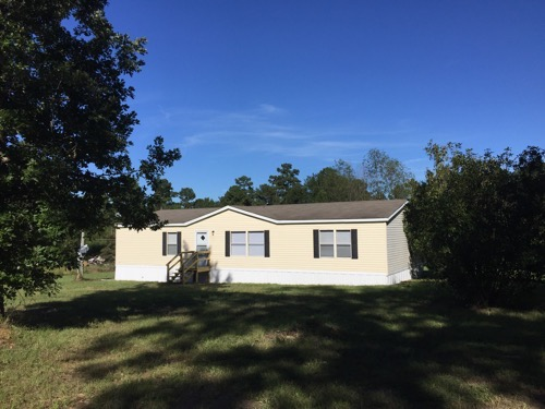 3/2 Lake Spri Doublewide Mobile Home On 2.17 Acres In Lufkin, Texas – $72,000