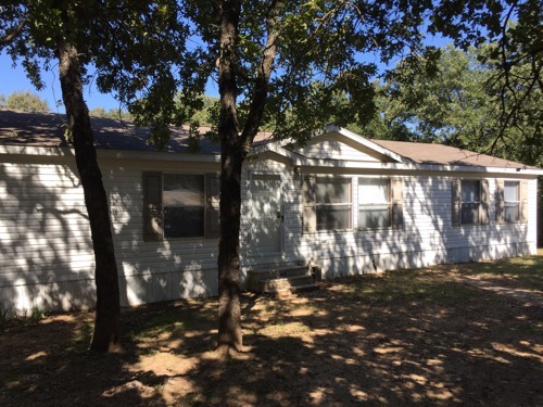 4/2 Pinehurst Doublewide Mobile Home On 2.90 Acres In Springtown, Texas – $89,900