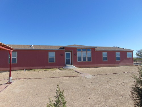 4/3 Platinum Doublewide Mobile Home On 0.62 Acres In Fort Hancock, Texas – $99,999