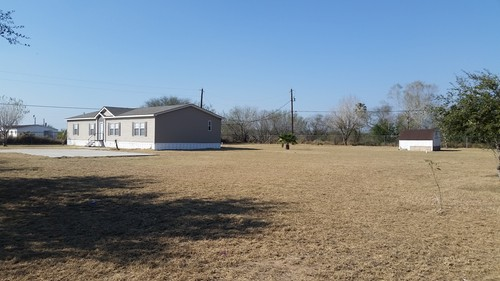 4/2 Fossil Cr Doublewide Mobile Home On 1.00 Acres In Edinburg, Texas – $109,900
