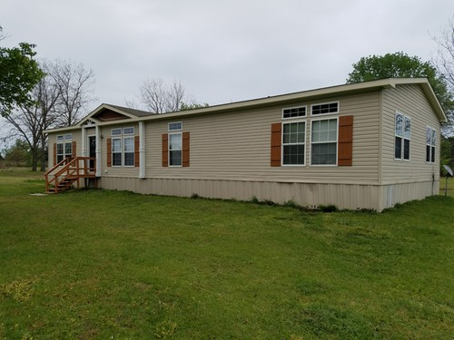 3/2 Southern Doublewide Mobile Home On 1.00 Acres In Gilmer, Texas – $84,900